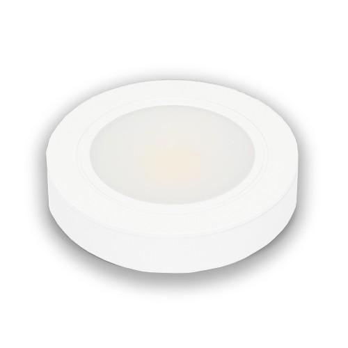 12V White LED Puck Light 3000K