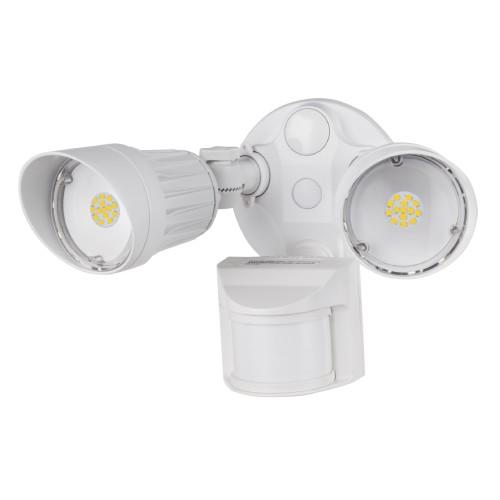 2 Head White Security Light 3000K